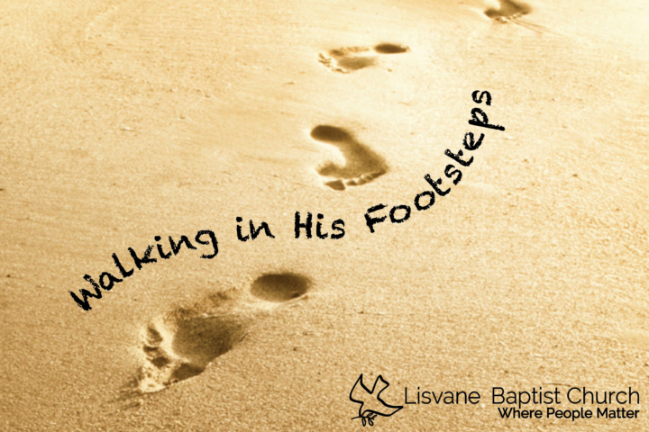Walking in His footsteps